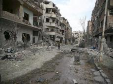 Today Az - Syrian army declares major victory in Damascus