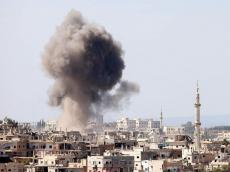 Today Az - Explosion reported in military area of Damascus
